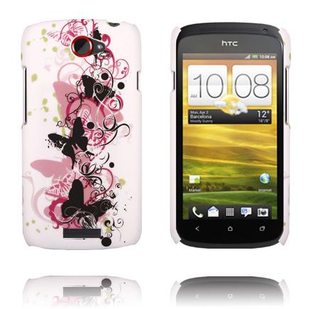 Valentine (Svarta Fjärilar) HTC One S Skal