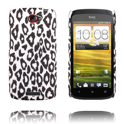 Leopard Fashion (Vit) HTC One S Skal