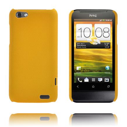 Supreme (Mörkgul) HTC One V Skal