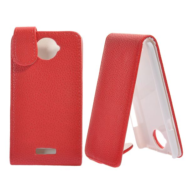 Third Season HTC One X Läderfodral (Röd)