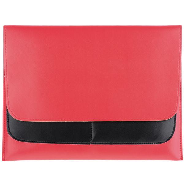 inCO Läderfodral för iPad 3/iPad 4 (Röd)
