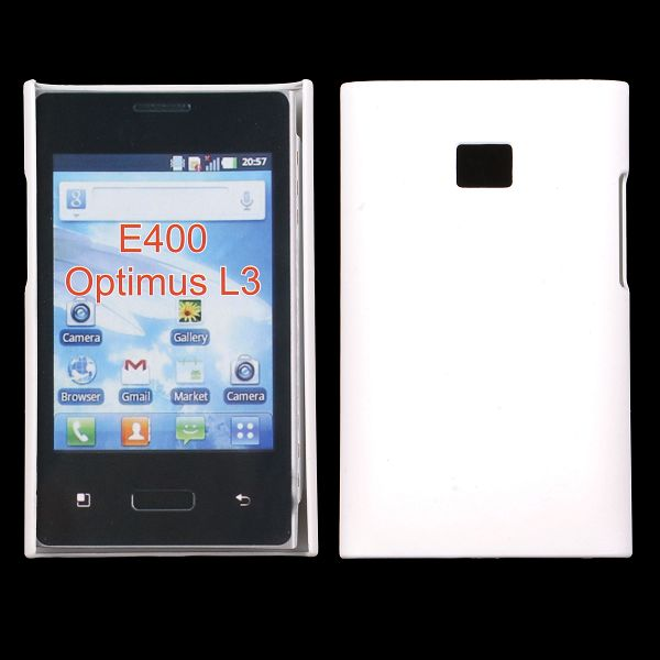 Hårdskal (Vit) LG Optimus L3 E400 Skal