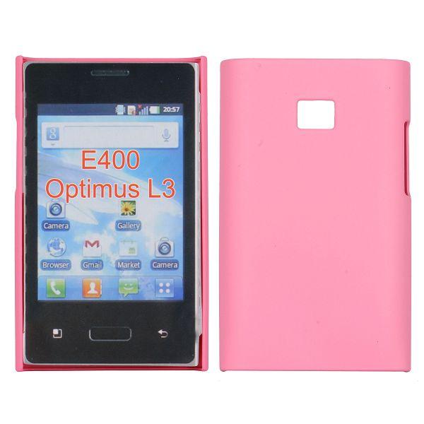 Hårdskal (Rosa) LG Optimus L3 E400 Skal