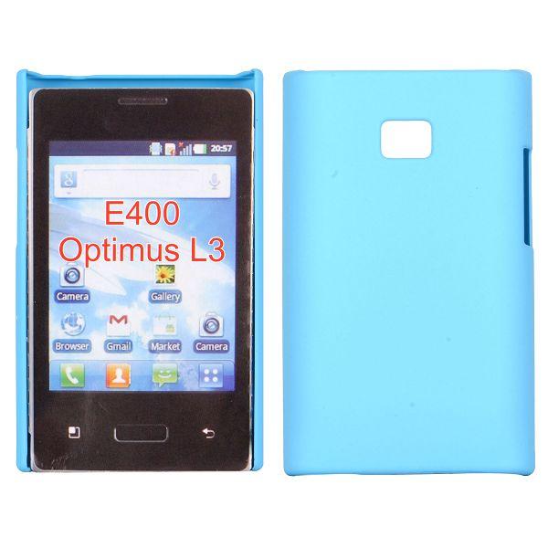 Hårdskal (Ljusblå) LG Optimus L3 E400 Skal