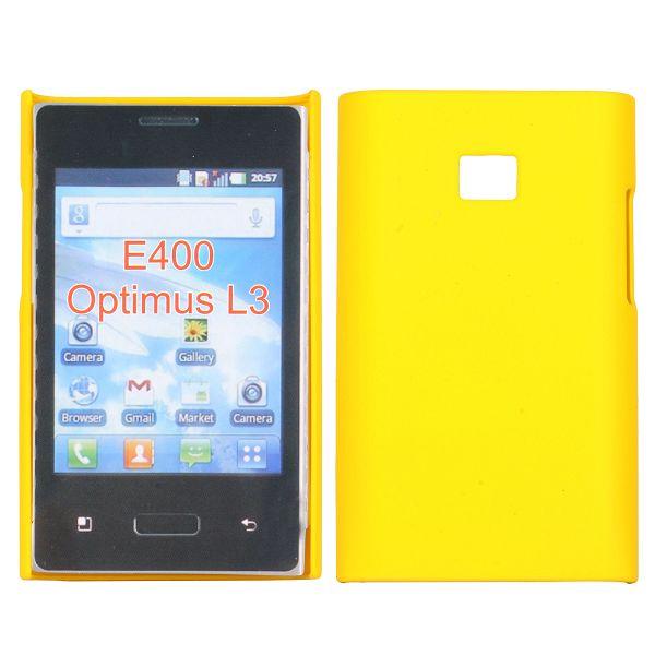 Hårdskal (Gul) LG Optimus L3 E400 Skal