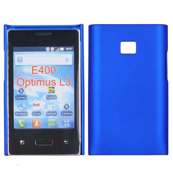 Hårdskal (Blå) LG Optimus L3 E400 Skal