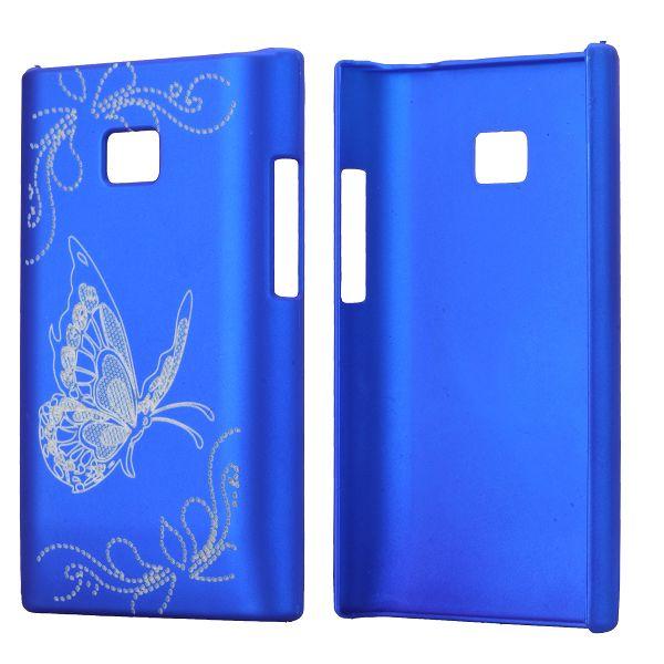 Amy (Blå) LG Optimus L3 Skal