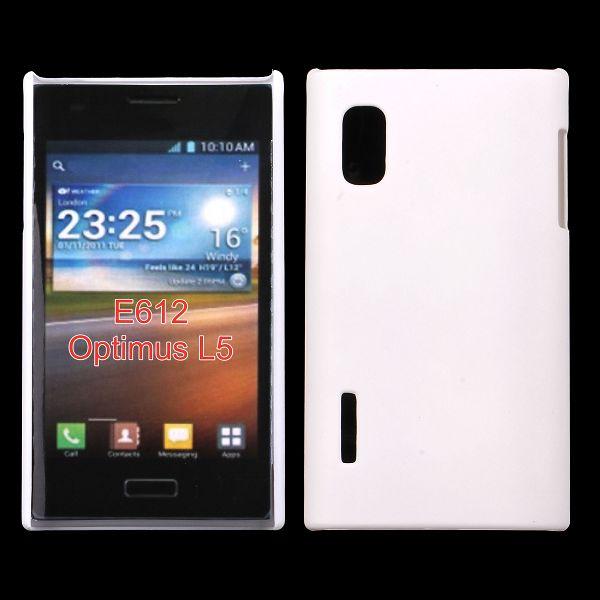 Hårdskal (Vit) LG Optimus L5 E610 Skal