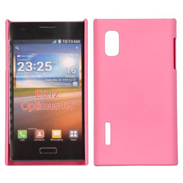 Hårdskal (Rosa) LG Optimus L5 E610 Skal