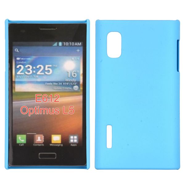 Hårdskal (Ljusblå) LG Optimus L5 E610 Skal