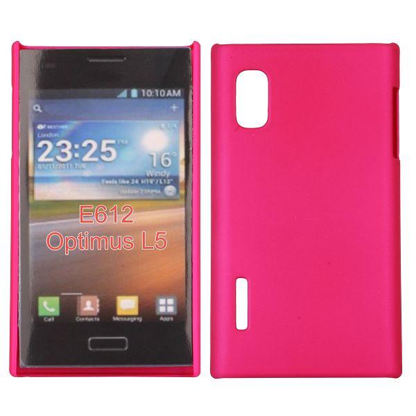 Hårdskal (Het Rosa) LG Optimus L5 E610 Skal
