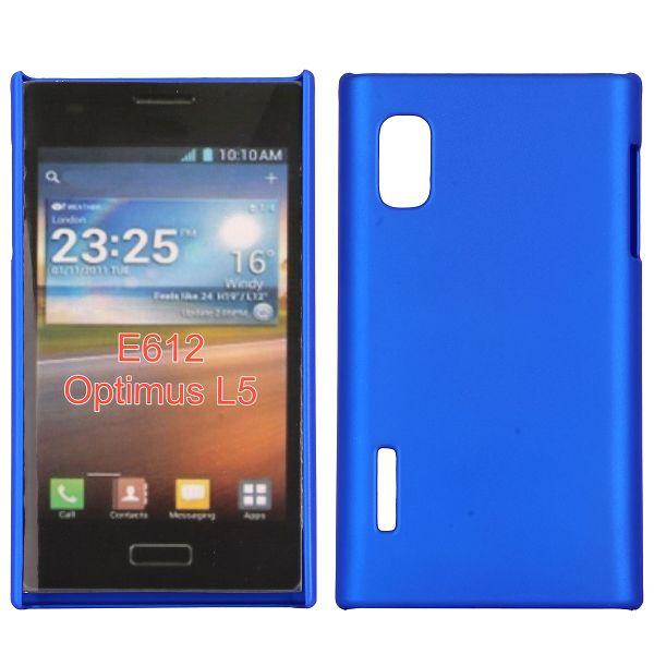 Hårdskal (Blå) LG Optimus L5 E610 Skal