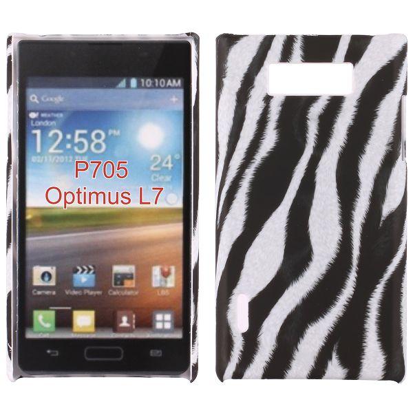 Safari (Diagonal Zebra) LG Optimus L7 Skal