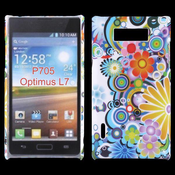 Valentine (RegnbågsBlommor) LG Optimus L7 Skal