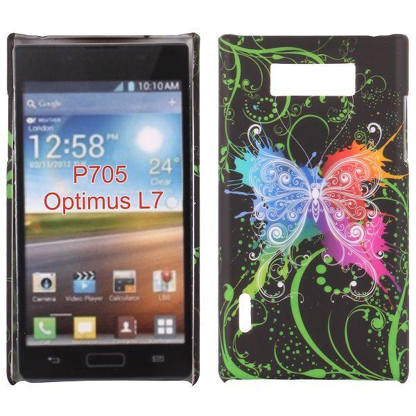 Valentine (Color Fjäril) LG Optimus L7 Skal