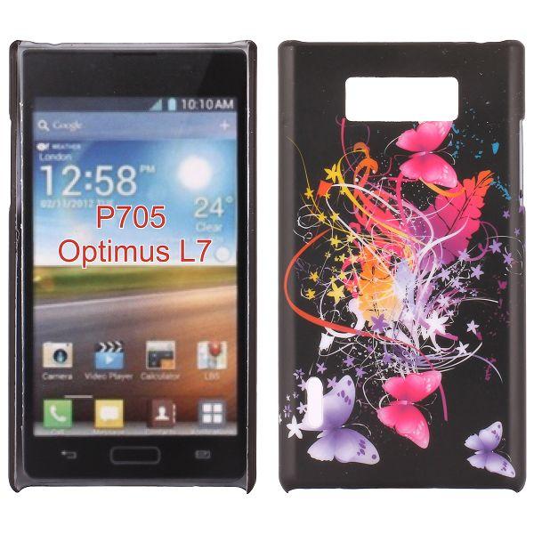 Valentine (Flygande Fjärilar) LG Optimus L7 Skal