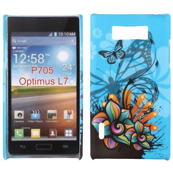 Valentine (Blå Fjäril) LG Optimus L7 Skal