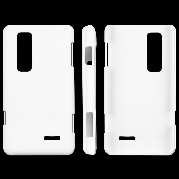 Hårdskal (Vit) LG Optimus 3D MAX Skal