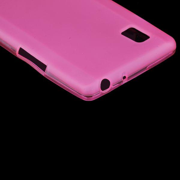 Color Shell (Ljusrosa) LG Optimus L9 Skal