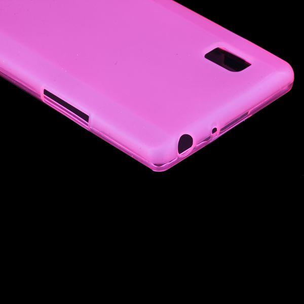 Color Shell (Het Rosa) LG Optimus L9 Skal