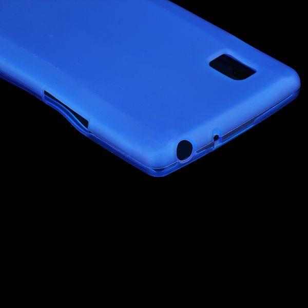 Color Shell (Blå) LG Optimus L9 Skal