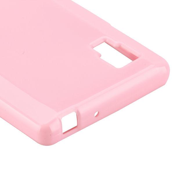 Candy Shell (Ljusrosa) LG Optimus L9 Skal