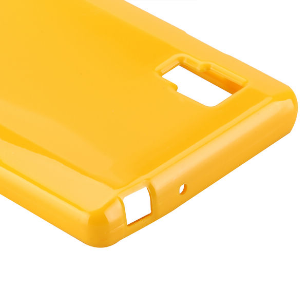 Candy Shell (Gul) LG Optimus L9 Skal
