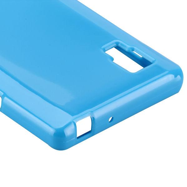 Candy Shell (Blå) LG Optimus L9 Skal