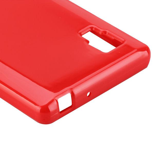 Candy Shell (Röd) LG Optimus L9 Skal