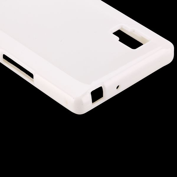 Glitter Shell (Vit) LG Optimus L9 Skal