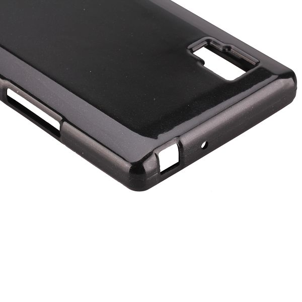 Glitter Shell (Svart) LG Optimus L9 Skal