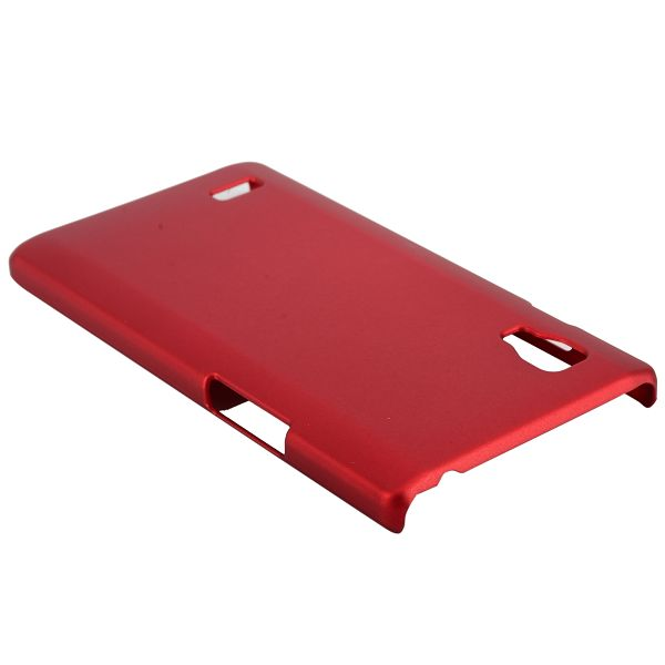 Hårdskal (Röd) LG Optimus L9 Skal