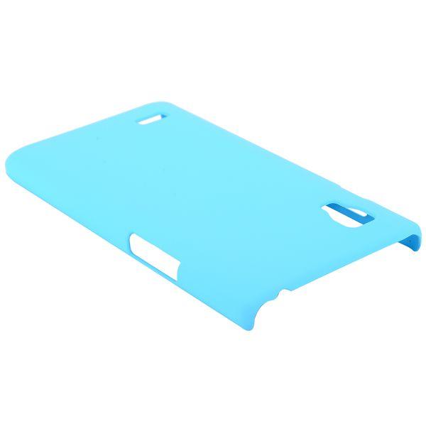 Hårdskal (Ljusblå) LG Optimus L9 Skal