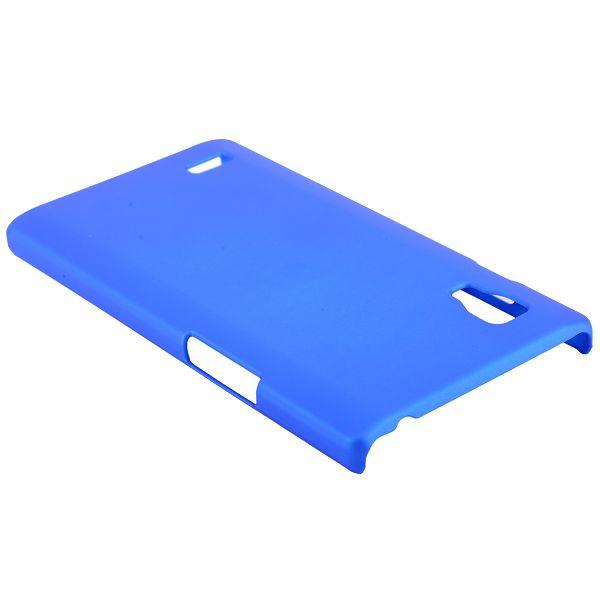 Hårdskal (Blå) LG Optimus L9 Skal