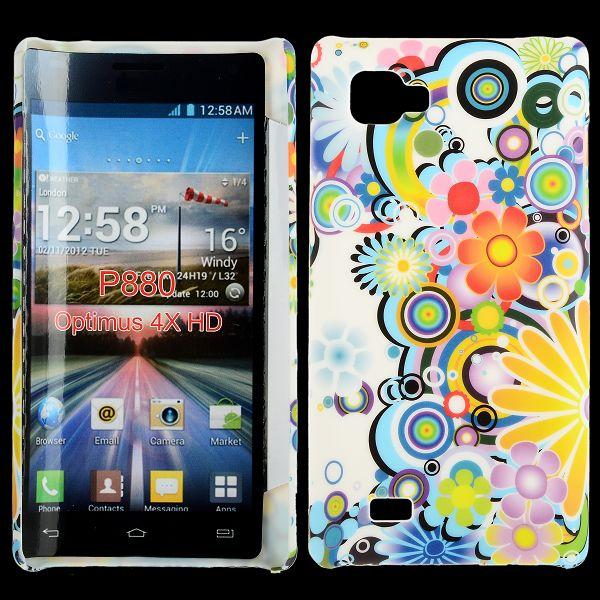 Valentine (Regnbågescirklar) LG Optimus 4X HD Skal