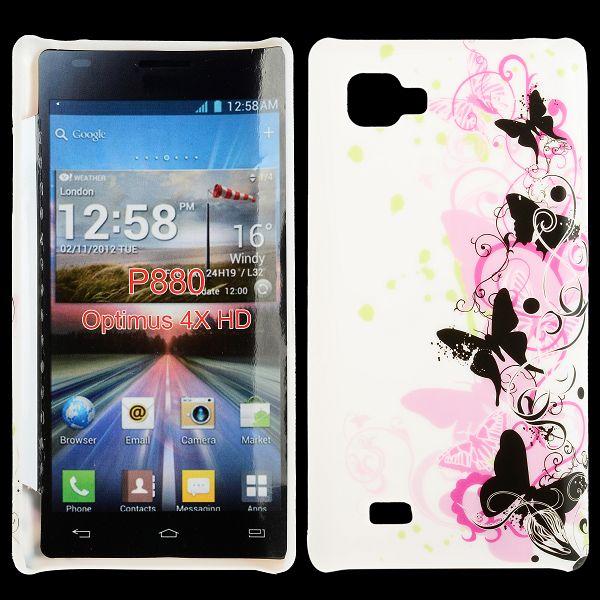 Valentine (Svarta Fjärilar) LG Optimus 4X HD Skal
