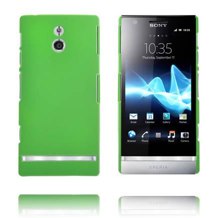 Hårdskal (Grön) Sony Xperia P Skal