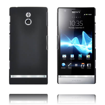 Hårdskal (Svart) Sony Xperia P Skal