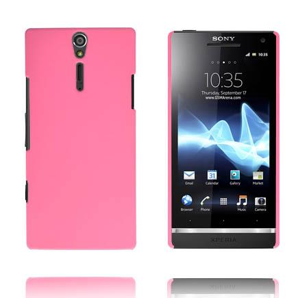 Hårdskal (Rosa) Sony Xperia S Skal