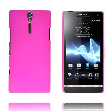 Hårdskal (Het Rosa) Sony Xperia S Skal