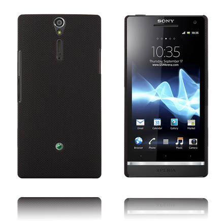 Supreme (Svart) Sony Xperia S Skal