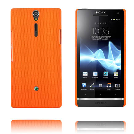Supreme (Orange) Sony Xperia S Skal
