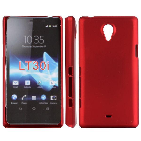 Hårdskal (Röd) Sony Xperia T Skal