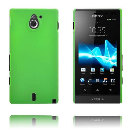 Hårdskal (Grön) Sony Xperia Sola Skal