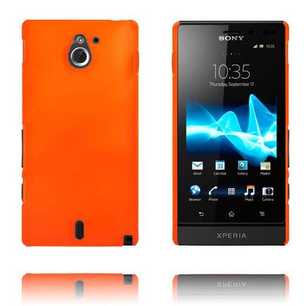 Hårdskal (Orange) Sony Xperia Sola Skal
