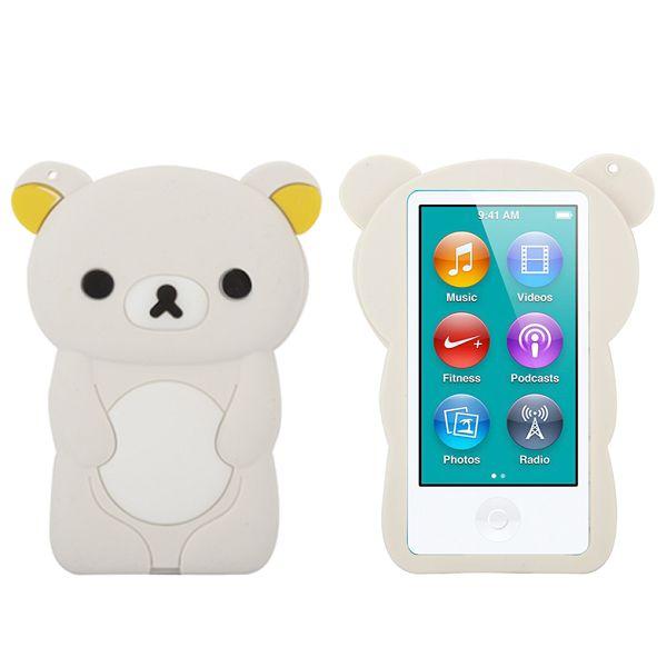 Happy Bear (Vit) iPod Nano 7 Skal