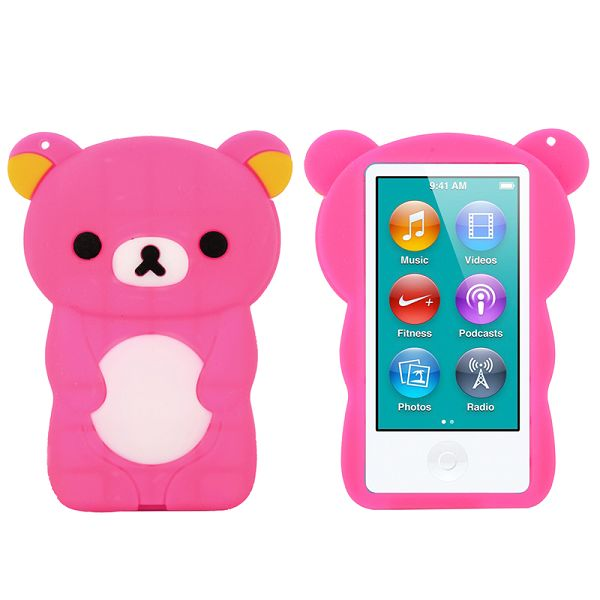 Happy Bear (Het Rosa) iPod Nano 7 Skal