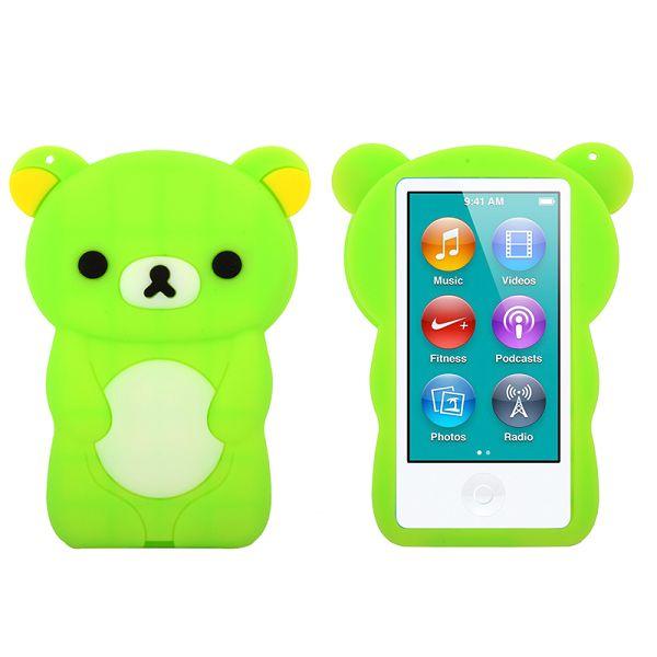 Happy Bear (Grön) iPod Nano 7 Skal