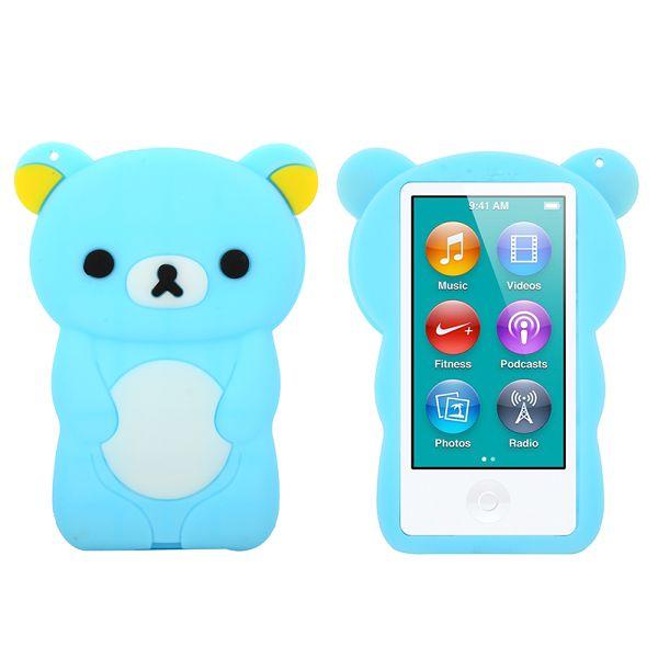 Happy Bear (Ljusblå) iPod Nano 7 Skal
