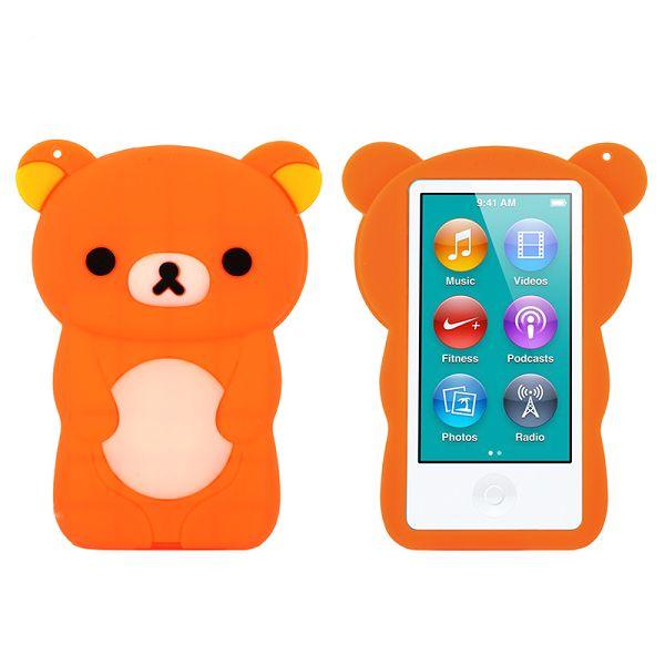 Happy Bear (Orange) iPod Nano 7 Skal